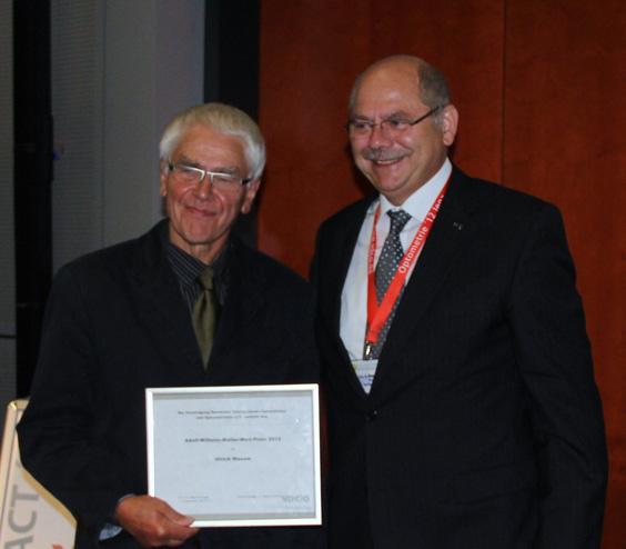 Adolf-Wilhelm-Müller-Welt-Preis: Ulrich Maxam