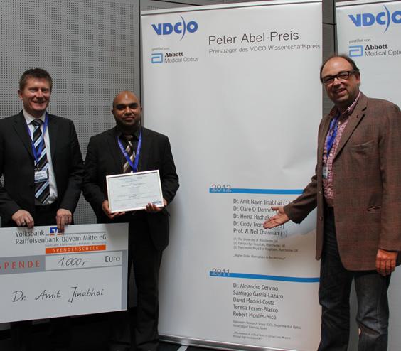 Peter-Abel-Preis: Dr. Amit Jinabhai
