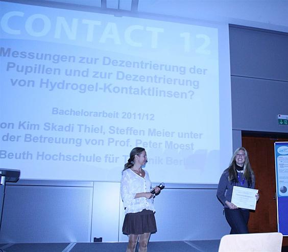Posterpreis: Kim Skadi Thiel und Steffen Meier