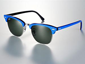 ray ban clubmaster schwarz blau