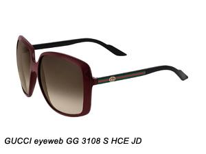GUCCI eyeweb GG 3108 S HCE JD