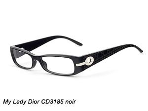 My Lady Dior CD3185 noir
