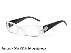 My Lady Dior CD3186 crystal-noir