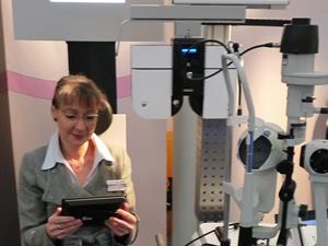 Augenoptikermeisterin Jutta Eckschlager