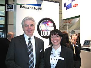 Werner Brunbauer mit Claudia Moser