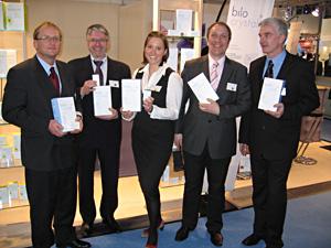 Sebastian Rössler, Peter Steinmetzer,  Martina Krischan, Markus Präg und  Robert Meier