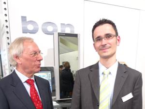 Geschäftsführer und Eigentümer Jochen Kaber  mit Sales Direktor Stefan Rüdiger