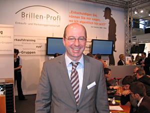 Brillenprofi Geschäftsführer Gerhard Langseder