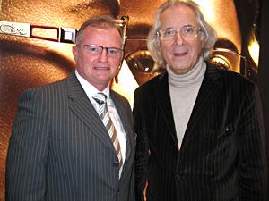 Horst Müller mit dem  österreichischen Maestro Cari Zalloni