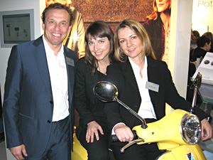 Rupert Elsensohn, Barbara Kultscher und  Antonia Lexer