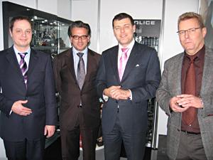 Jörg Oppermann, Jens Nehmer,  Dr. Michele Villotti, Klaus Lorenz