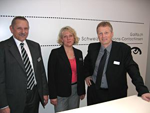 Michael Stoiber, Gudrun Hiesl und  Christian Krüsi