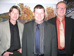 Gerhard Hetych, Herbert Hetych und  Leopold Wunsch