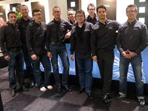 Björn Boblun, Martin Lykke Thomsen, Heiko Fürst,  Thorsten Nitschke, Morten Olsen, Peter Lachner,  Sven Wahlen, Florian Scheu und Martin Herold