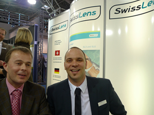 CEO Philippe Käppeli und  Product Manager Pascal Blaser