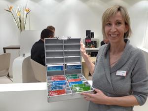 Marketingleiterin Caroline Glaser: