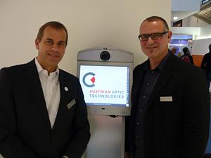 Marcus Wecht (Geschäftsleitung) und Christian Steingärtner (Verkaufsleiter)