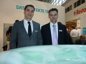 Product Manager Stephan Müller und  Marketing Manager Vision Marco Künzel: