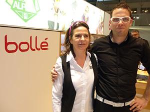 Renate Schatzl und General Manager  Gernot Trebsche