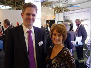 Mario Rehnert und Sandra Kössler: