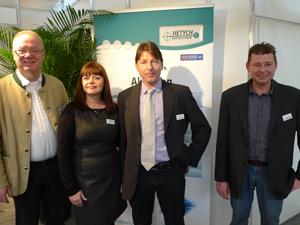 Leopold Wunsch, Carola Cepf, Gerhard Hetych  und Herbert Hetych: