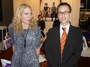 Lilia Crofton und Francisco Villagrán: