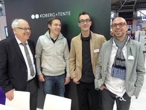 Tente sen., Tente jun., Markus Radlinger (Österreich),  Daniel Gsottbauer (Österreich)
