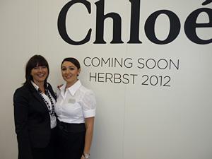 Barbara Haider und Tala Taheri Pour: