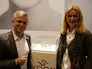 Ralf Kmoch und Susanne Homolka beim  Launch der neuen Brillenkollektion KAORI