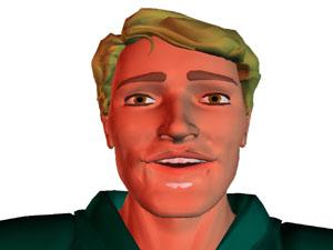 Rechteckige Gesichtsform