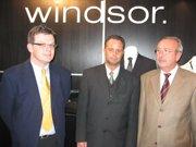 "E. Hofbauer, R. Wiche, H. Goldmann ""Windsor schafft starke Impulse"""