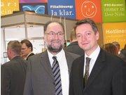 Martin Himmelsbach mit Harald Belyus am IPRO-Stand
