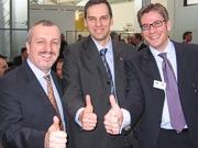 Michel Boinet, Wolfgang Schwed und Ronny Mayrhofer