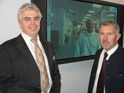 Werner Brunbauer und Kurt Polzhofer