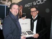 """Andreas Pirkheim und Wolfgang Scheucher: """"Andy Wolf ist Handwerkskunst"""""""