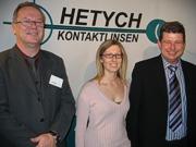 """Herbert Hetych mit Teil des Teams: """"Stehen mit Beratungsteam zur Verfügung"""""""