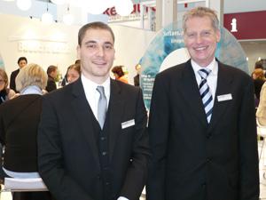 Product Manager Stephan Müller und  Business Unit Director Joachim Fleischer