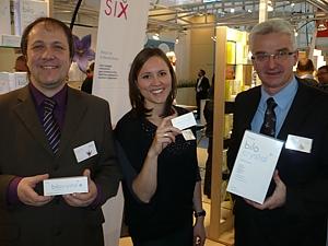 Markus Präg, Martina Krischan und  Robert Meier mit der bilocrystal Familie