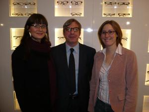 Anja Wagner, Marian Mittelman und Nina Witt