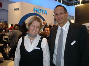 Marketing Chefin Silke Rössel mit Österreich  Niederlassungsleiter Martin Decker