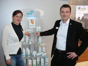 Pressesprecherin Ulrike Holznagel und  Vorstandsmitglied Bernd Behrens
