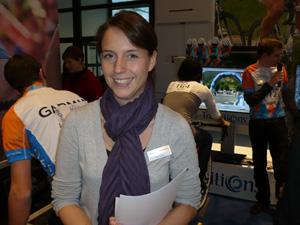 Transitions Pressesprecherin Jana Schäfer