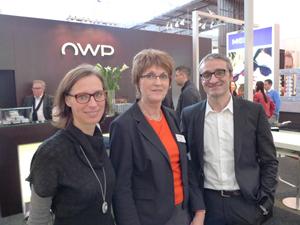 Product Managerin Daniela Wenzl,  Repräsentantin Ilse Venzhofer und  Geschäftsführer Werner Paletschek