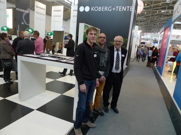 Frank Tente, Daniel Gsottbauer, Vertrieb  Österreich und Heiner Tente