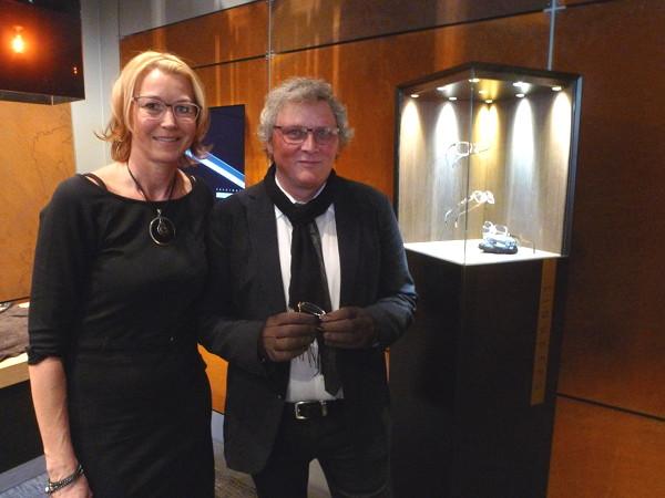 Marianne Lomholdt Auer, Country Manager  Österreich, und Henrik Lindberg, Architekt,  Designer und CEO