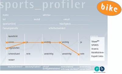 SPORTS profiler