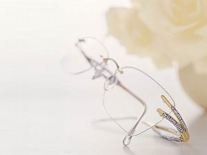 72abeb7ac7f0 Romance - das neue Modell von Daniel Swarovski Paris crystal eyewear ...