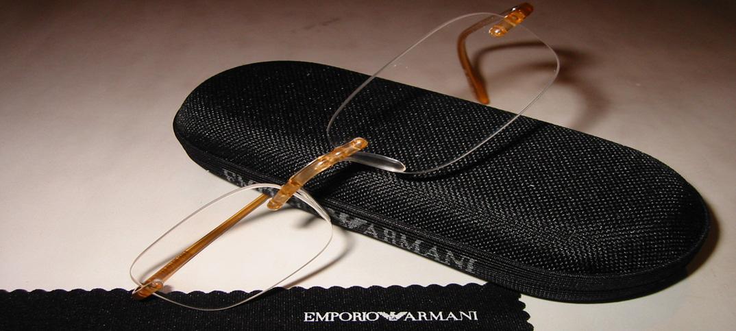 Armani Bohrbrille