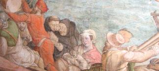 Mönch mit Bügelbrille – Jan Vermeyen's Kartons von 1550 im KHM Wien