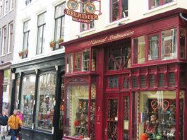 Das Brilmuseum in Amsterdam - ein geschichtsträchtiges Haus mit historischen Brillen
